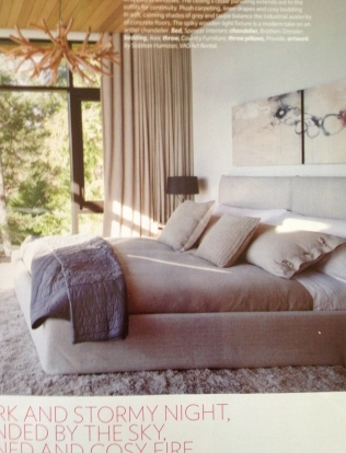 Long Presage, 2012 feature in Canadian House & Home magazine